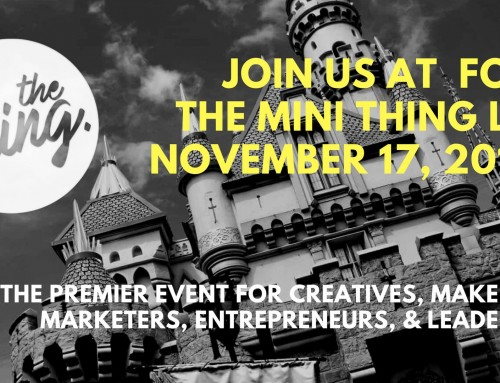 "Key note speaker at ""The Thing"" L.A. in Burbank Nov. 17th"